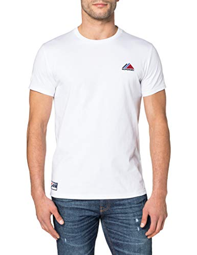 Superdry M1011086A Camiseta, Óptica, XL para Hombre
