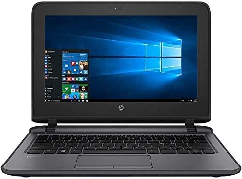 HP Business ProBook 11.6-inch HD WLED Touchscreen Laptop PC Intel Pentium 4405U 2.10GHz Processor, 8GB DDR4, 128GB SSD, HDMI, Webcam, WiFi, Bluetooth, Up to 13 hrs Battery, Windows 10 Pro (Renewed)