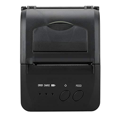 Semiter Impresora, Impresora térmica USB Estable, para hostelería Tienda minorista Industria de la Ropa Comida para Llevar(European regulations)