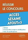 Réussir le Concours Acces Sésame Atout+3