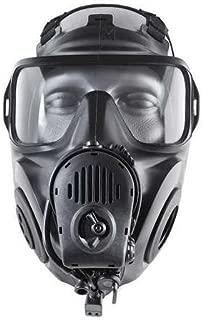 Full Face Respirator, Butyl Rubber, L