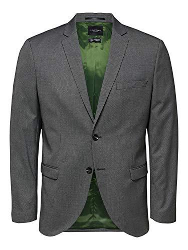 Selected Casaco Fato Slim Cinzento-escuro 46 - A30841401