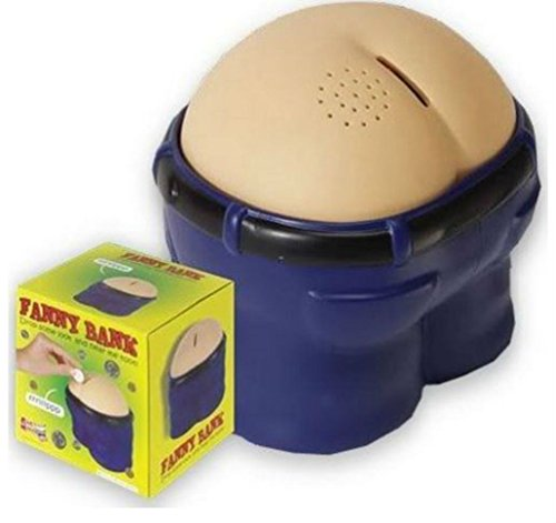 Unbranded Fanny Bank Funny Farting Coin Drop Bank Great Gift/Gag