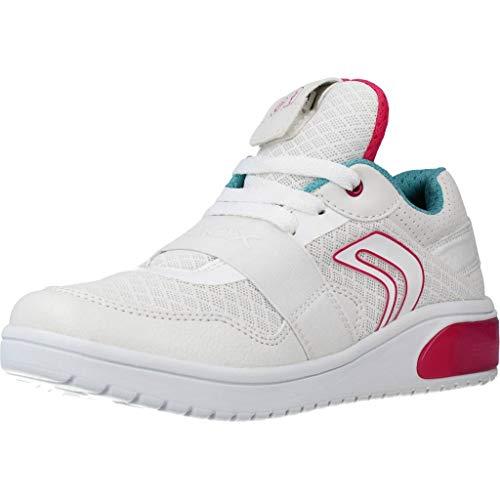 Geox J XLED Girl A, Zapatillas Mujer