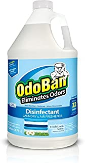 OdoBan Fresh Linen Odor Eliminator and Disinfectant Concentrate (1 Gal.), Single