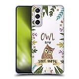 Head Case Designs Eule Seelen Tiere Abbildungen Soft Gel Handyhülle Hülle Huelle und Passende Designer Hintergrundbilder kompatibel mit Samsung Galaxy S21 5G