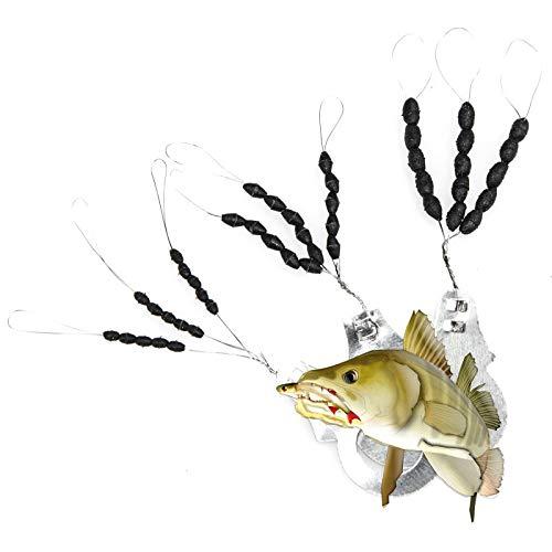 TheBigFish - 3x15 Gummistopper Schnurstopper Posenstopper - Größen S,M & L