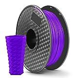 LONENESSL 3D PLA Printing Filament 1.75mm 1KG Spool Printer Filament Bundle, Dimensional Accuracy +/- 0.02 mm Printer Consumables Purple