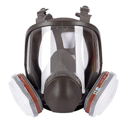 TX Máscara De Gas Cara Completa Pintura En Aerosol Equipo Químico De Protección Laboral Equipo De Bombero
