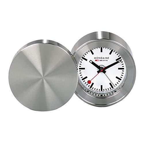 Mondaine Table Clock - Orologio da Tavolo per Soggiorno e Stanza, MSM.64410, 50 MM.