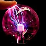 LEDMOMO Plasmakugel Lichter Plasma Ball lampe mit USB Kugel Blitze Touch Sensitive Lampe für Party...