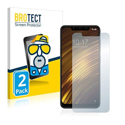 BROTECT 2X Entspiegelungs-Schutzfolie kompatibel mit Xiaomi Pocophone F1 Bildschirmschutz-Folie Matt, Anti-Reflex, Anti-Fingerprint
