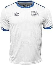 Umbro El Salvador Away Jersey 17/18 (White/Blue, L)