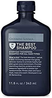 Grooming Lounge Best Smeller Shampoo, Men's Thickening, Volumizing Shampoo with Biotin