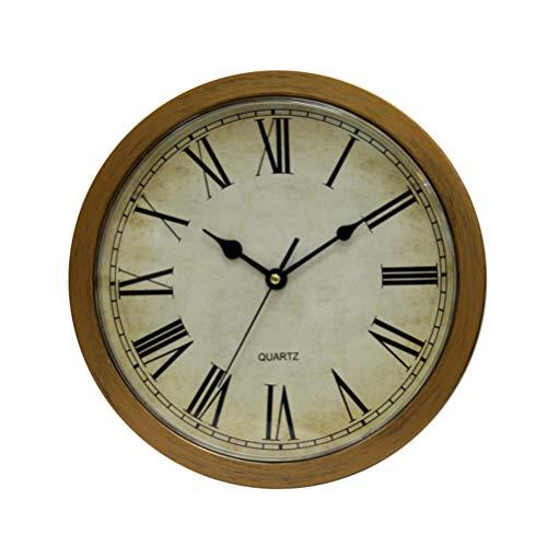 Angoily Reloj de Pared con Espacio de Almacenamiento Oculto Reloj Analógico de Pared Vintage con 3 Compartimentos Ocultos para Joyas Efectivo Objetos de Valor Contenedor de Seguridad