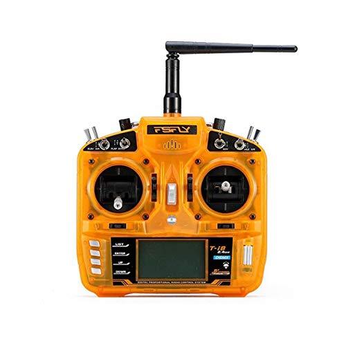 HELEISH FSFLY T-i8 transmisor RC 8 canales de 2,4 GHz a distancia Modelos de control compatible DSM2 for RC Piezas de montaje de bricolaje (Color : 2 (Left Hand Throttle))
