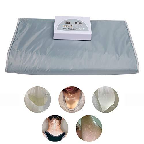 GAYBJ Sauna Decke, Far Infrared Sauna Heizdecke, Far Infrared Therapy Thermal Blanket für Body Shape Abnehmen Fitness Detox-Therapie Anti-Aging Schönheit