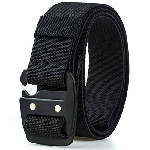 WYuZe Mens Tactical Belt Military Elastic Stretch Duty...