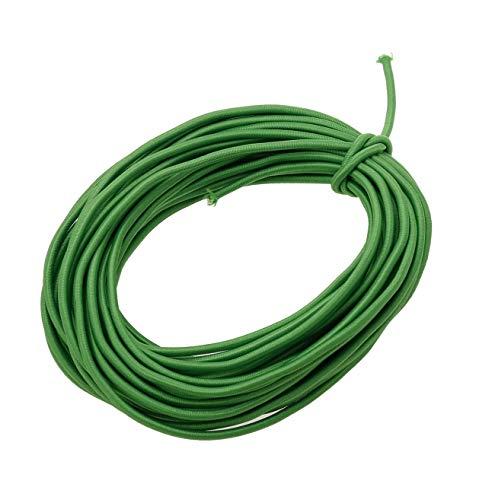 Usew 1/8-Inch (3mm) Green Heavy Stretch Round String Elastic Cord (Cut of 10 Yards)