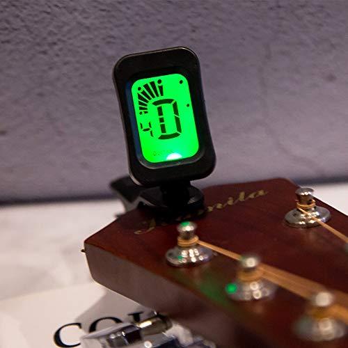 LUFKLAHN Tuner, Justagepositionen: Zwölf Durchschnittspreis/Gitarre/Bass/Violine/Ukulele, können Sie die Leistung des Instruments einstellen Faster (Color : 2)