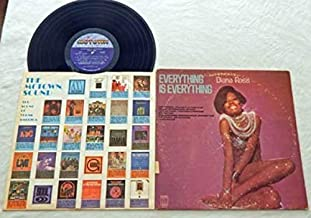 Diana Ross Everything Is Everything - Motown Records 1970 - Used Vinyl LP Record - Baby Its Love - Come Together - The Long And Winding Road - Im Still Waiting