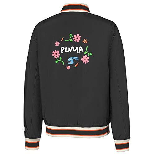 PUMA X Randomevent Bomber Giacca, Uomo, Nero puma , Large