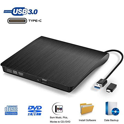 Grabadora DVD Externa, iAmotus Unidades CD/DVD Externas USB
