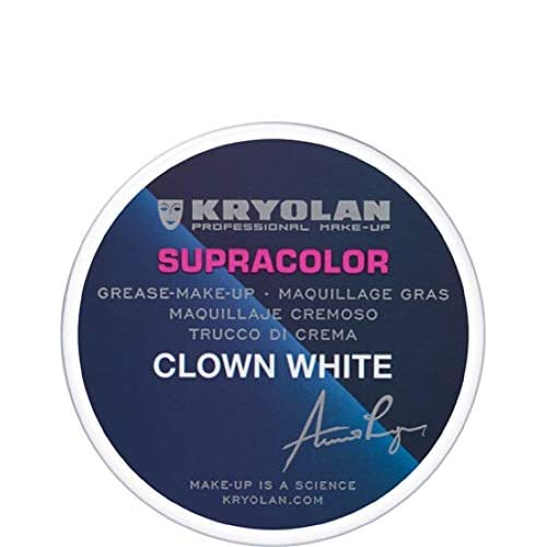 Kryolan TRUCCO SUPRACOLOR BIANCO CLOWN 55 ml make up bodypainting