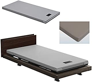 パラマウントベッド インタイム1000 電動ベッド INTIME1000シリーズ お得な3点セット ベッド本体 RQ-1333MC/マットレス/ボックスシーツ (【ボックスシーツカラー】ブラウン)1333MC