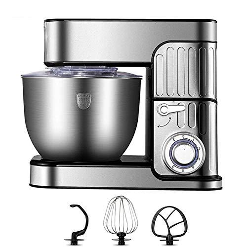 Küchenmaschine Kitchen Aid Artisan, 1000w Knetmaschine Brotteig 7l Edelstahl Kitchen Aid Artisan Kommt Mit Mixer Teighaken Schneebesen Spritzschutz