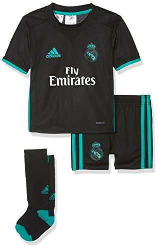 adidas Mini Conjunto Equipación Línea Real Madrid Temporada 2017/2018,  Unisex