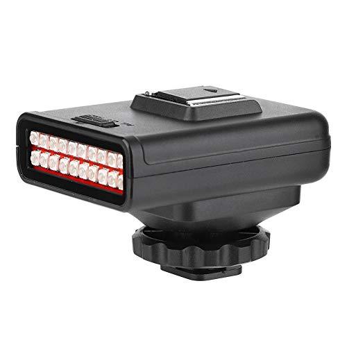 Yunir Cámara infrarroja portátil Lámpara de visión Nocturna Doble Fila Ajustable 20PCS Luces infrarrojas Fotografía Exterior al Aire Libre Accesorios Profesionales