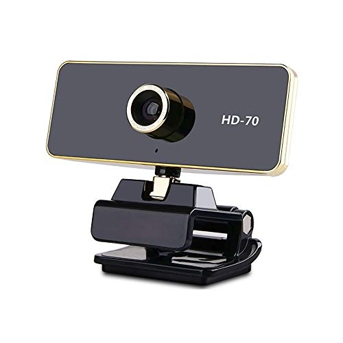 ASDFG Computer Webcam 1080p HD Camera PC Desktop Laptop Webcams USB with Microphones Plug and Rotatable Camera for Live Broadcast Video Meeting