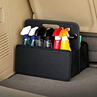 KMMOTORS Comfortable Practical Car Care Kit Storage for Make Neat and Clean Your Trunk