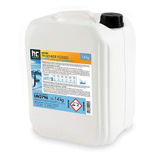 Höfer Chemie 7 kg BAYZID pH moins liquide - l'ORIGINAL pour une valeur de pH optimale et une excellente qualité de l'eau