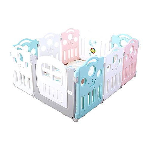 Affordable XXHDEE Children's Indoor Playground Children's Crawling Fence Plastic Safety Shatterproof...