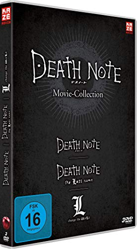 Death Note Movies 1-3: Death Note / The Last Name / L-Change the World [3 DVDs]