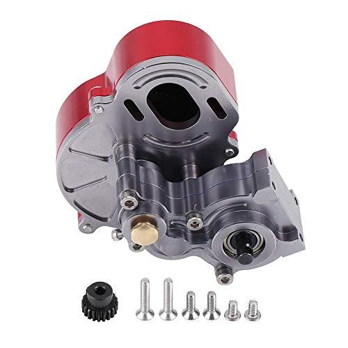 Dilwe RC Auto-Getriebe, Metall RC Center Gear Box mit Schrauben für AX10 SCX10 1/10 RC Crawler Car Bearing Parts Upgrade Zubehör