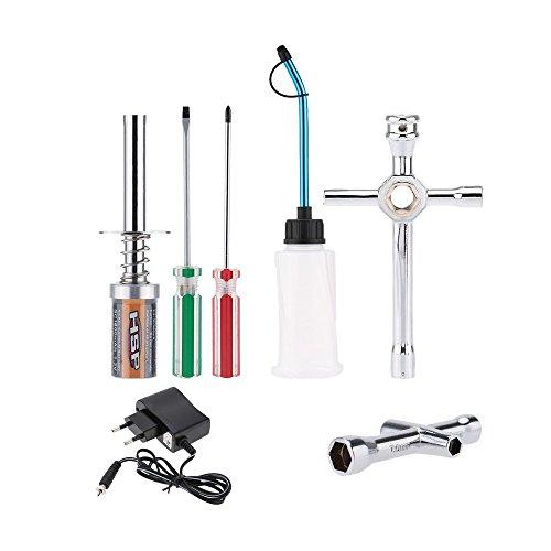 SM SunniMix Kit de Arranque Remoto RC Vehículo de Gas Nitro HSP Herramientas Manuales Fontanería