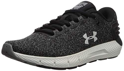 Under Armour Women's Charged Rogue Twist Running Shoe, Black (002)/Graphite, 9.5