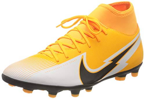 Nike Unisex Superfly 7 Club FG/MG Fussballschuh, Laser Orange Black White Laser Orange, 39 EU
