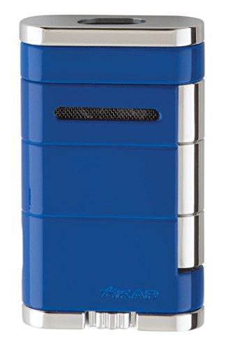 Xikar Allume Double Jet Blue Lighter