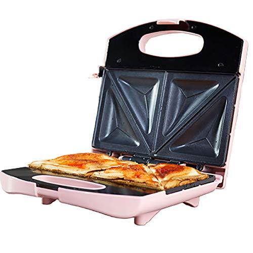 Sandwich Toastie Maker, Antihaftplatten, pink, 750w, gerösteter Sandwich Maker,