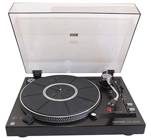Grundig PS 1020 Schallplattenspieler in schwarz - Direct Drive