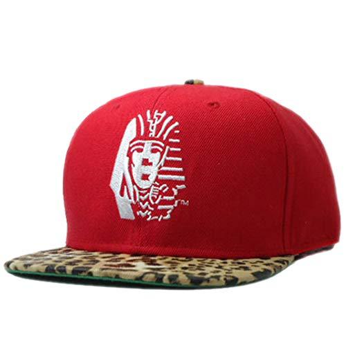 QOHNK Nuevos Sombreros del Faraón Egipcio Último Rey LK Gorras De Béisbol Gorras Sports Hip Hop Hat