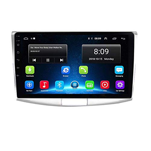 "Android 8.1 GPS Navigation Stereo Radio, para VW Volkswagen Passat B6 / B7 Magotan/CC 2012-2015, 10"" 1080P HD Pantalla Táctil Completa Reproductor Multimedia, Enlace Espejo ,8Cores:4G+WiFi4G+64G"