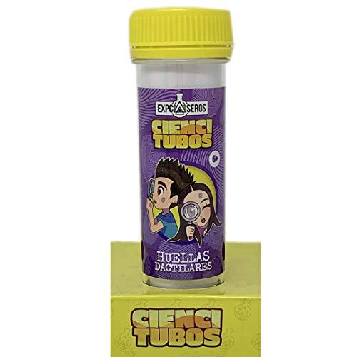 Cefa Toys CIENCITUBOS CASEROS: HUELLAS DACTILARES juego experimentos (21843)