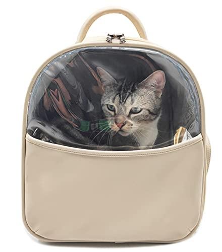 Bolsa para mascotas Mochila para mascotas Bolsas de la portadora de gatos transpirables PET transportables Pequeño perro Cat Mochila Viaje Caja de viaje Bolsa de transporte de mascotas Llevar para gat