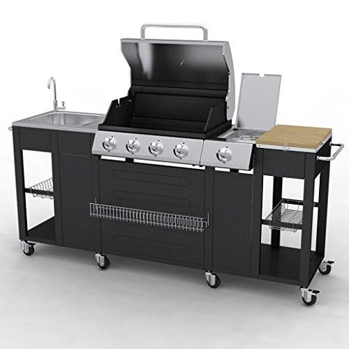 Outdoor Kitchen VidaXL 40425 Barbecue – 4 Burners