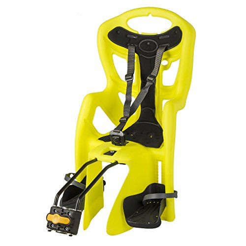 Bellelli Pepe Seatpost Mounted Baby Carrier, Yellow/Black